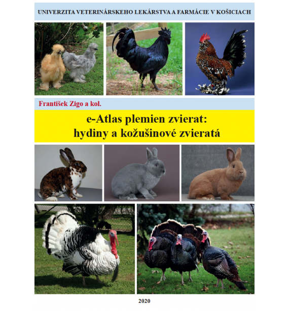 e-Atlas plemien zvierat - hydina, kožušinové zvieratá